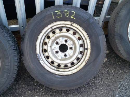 CARGO/VANETTE/LDV CUB 185-75-14 WHEEL AND TYRE 1997 - 2001 (1382)
