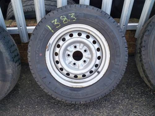 CARGO/VANETTE/LDV CUB 185-75-14 WHEEL AND TYRE 1997 - 2001 (1383)