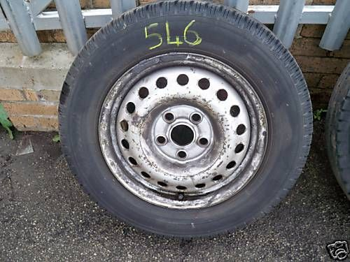 VW T4 TRANSPORTER 195-70R-15C WHEEL AND TYRE 1996 - 2003 (546)