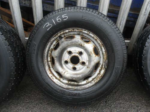 VW T4 TRANSPORTER WHEEL AND TYRE 185-R-14C 1991 - 1995 (3165)